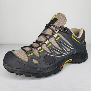 SALOMON Gore-Tex  Gray Trail Hiking Outdoor Shoes